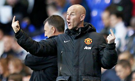 Nicky Butt, the Manchester United coach
