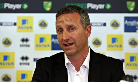 Norwich City's new manager Neil Adams