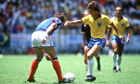 Zico in 1986