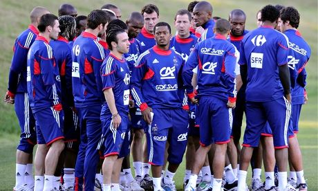 France's 2010 World Cup squad