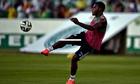 Nigeria's forward Emmanuel Emenike
