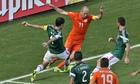 Arjen Robben Holland Rafael Márquez Holland