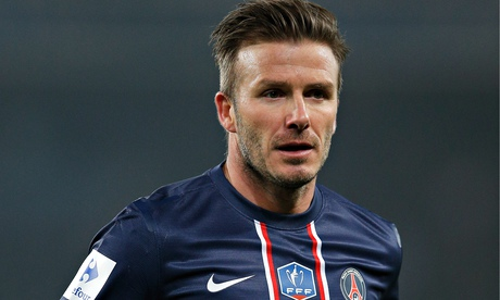 David Beckham finished his playing career at PSG just over a year ago ...