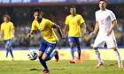 Neymar of Brazil v Serbia