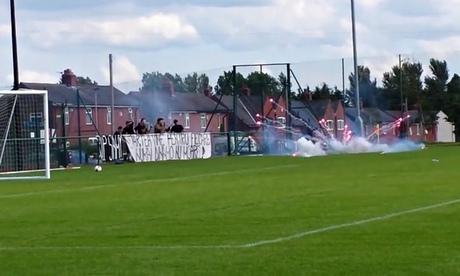 Dinamo Bucharest fans
