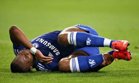 Chelsea confident Didier Drogba will recover quickly from ankle injury