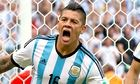 Marcos Rojo of Argentina