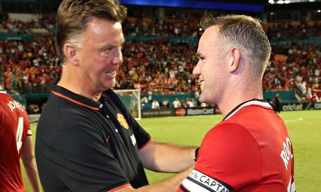Louis van Gaals Manchester United already has Wayne Rooney purring