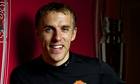 Phil Neville photographed in 2013