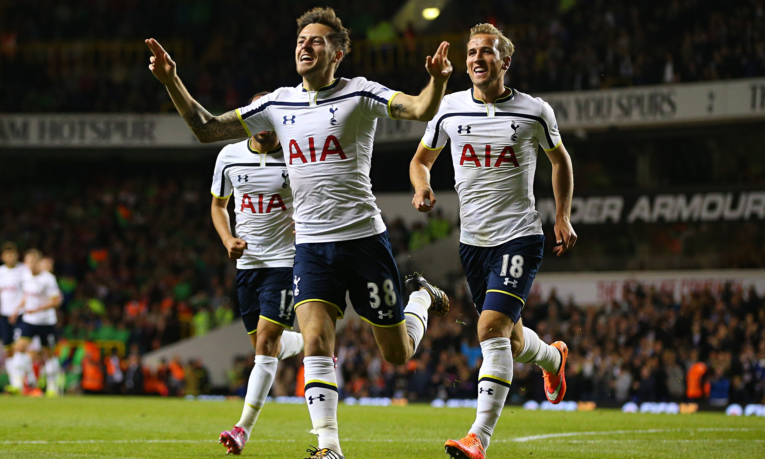 Tottenham Hotspur 3-1 Nottingham Forest | Capital One Cup ...