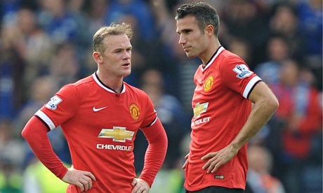 How Wayne Rooney saw off Robin van Persie's challenge at Manchester United | Amy Lawrence
