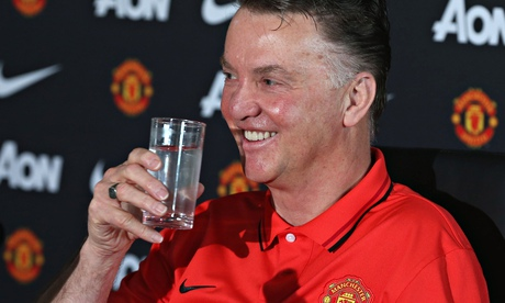 Manchester United's Van Gaal has second place and City in his sights