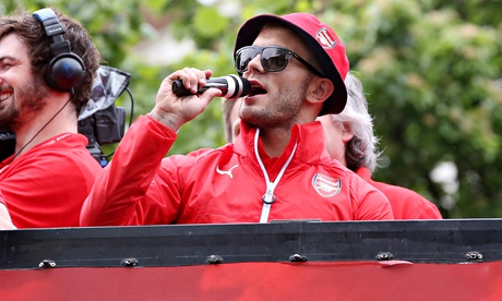 Arsenal's Jack Wilshere did nothing wrong, except show a bit of personality