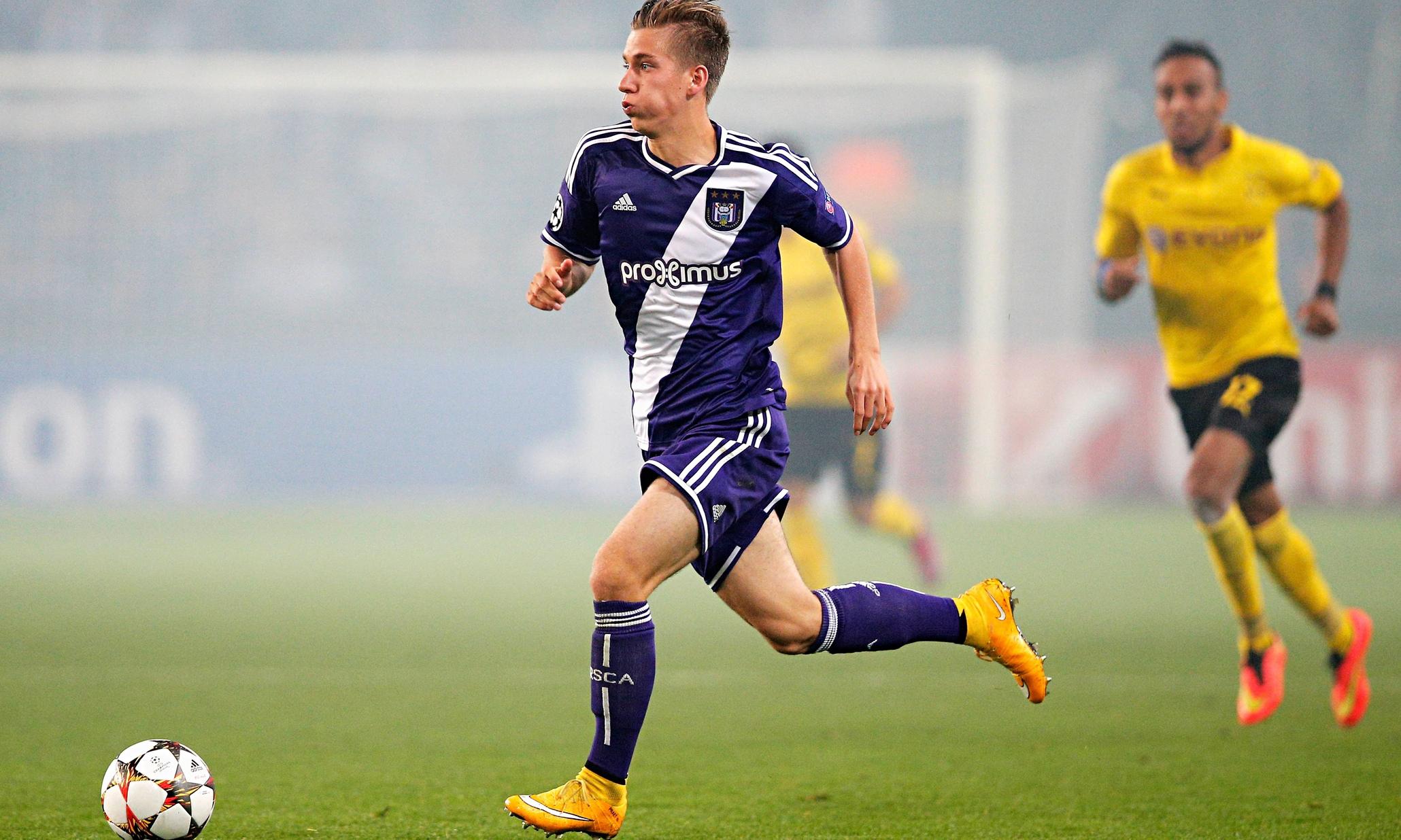 Aston Villa join chase to sign Anderlecht midfielder Dennis Praet