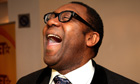 Lenny Henry laughing