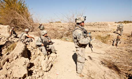 us soldiers afghanistan checkpoint