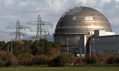 Sellafield nuclear reprocessing site Cumbria