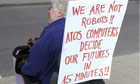 disabled protest atos