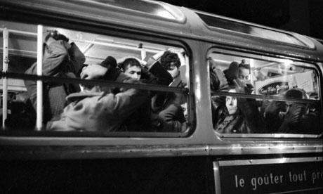 algerian protestors french police 1961