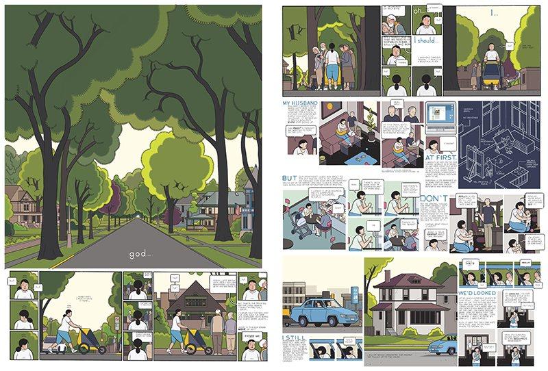 Illustration, illustrateurs (contemporains) Press-images-Chris-Ware-b-001