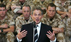 tony blair soldiers iraq