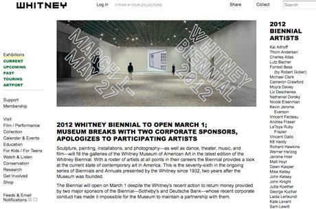 Whitney Museum Biennial hoax