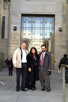 Naomi Wolf court appearance January 2012