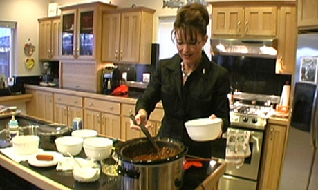 Sarah Palin cooking
