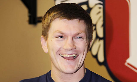 Boxing - Ricky Hatton Training Work Out - Las Vegas