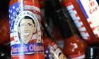 Barack Obama hot sauce at an inaugural souvenir store in Union Station