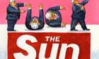 01.10.09: Steve Bell on Labour falling out with The Sun