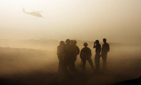 British troops on duty in Helmand, Afghanistan