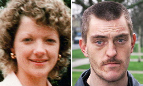 A composite picture of Vikki Thompson and Mark Weston