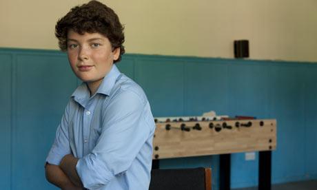 Teen boys Jamie. Jamie Prowse. Photograph: Caroline Irby
