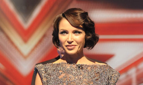 Dannii Minogue on The X Factor 24 October 2009
