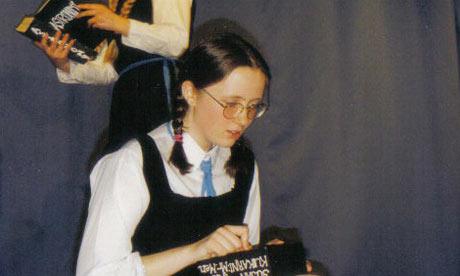 Laura Barnett at school