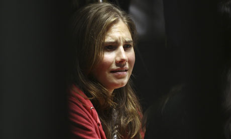 amanda knox movie. Amanda Knox reacts during a