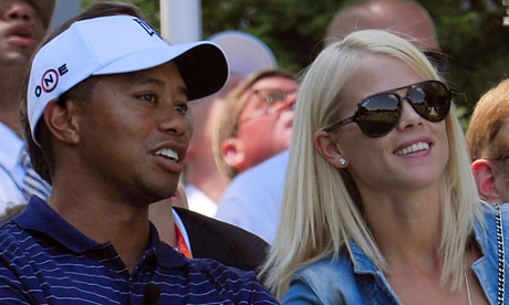 tiger woods wife elin nordegren. Tiger Woods and Elin Nordegren