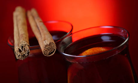 Mulled wine. Photograph: Tracy Hebden/Alamy