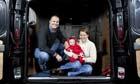 Willson baby born in van