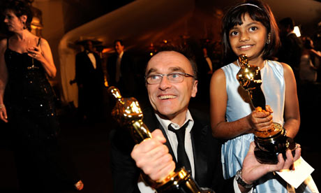 Danny Boyle and Rubiana Ali at the 81st Annual Academy Awards Governor's Ball