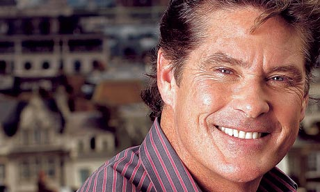 David Hasselhoff photographed at Claridges Hotel penthouse suite. Photograph: Dwayne Senior/eyevine