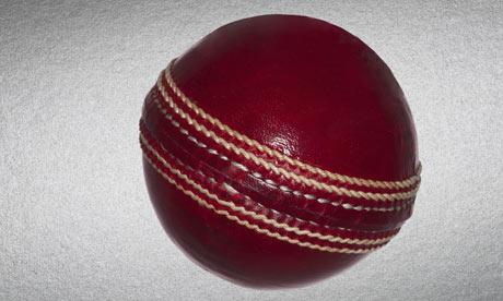 cricket ball icon. A red cricket ball.