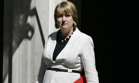 Jacqui Smith following a cabinet meeting at 10 Downing Street