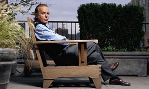Writer Martin Amis on Roof