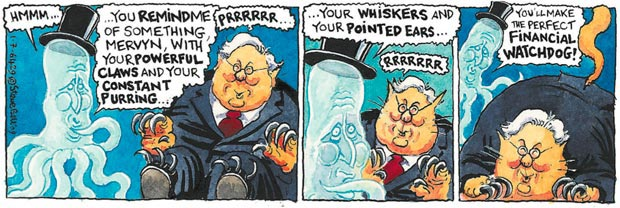 Steve Bell: You'll make the perfect financial watchdog!