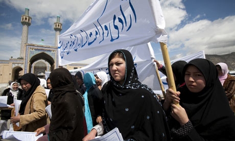 Afghan Women Protest New Family Law