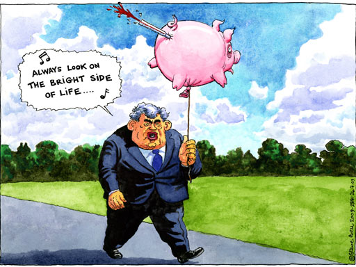 24.07.09: Steve Bell on Gordon Brown