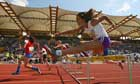 Young athletes compete at the Aviva schools track and field championship