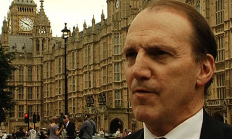Liberal Democrat deputy leader Simon Hughes today rejected Conservative plans to end lifetime council house tenancies. Photograph: John Domokos/guardian.co. ... - Simon-Hughes-001